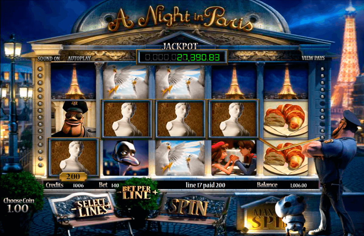 a night in paris betsoft automat pa nett