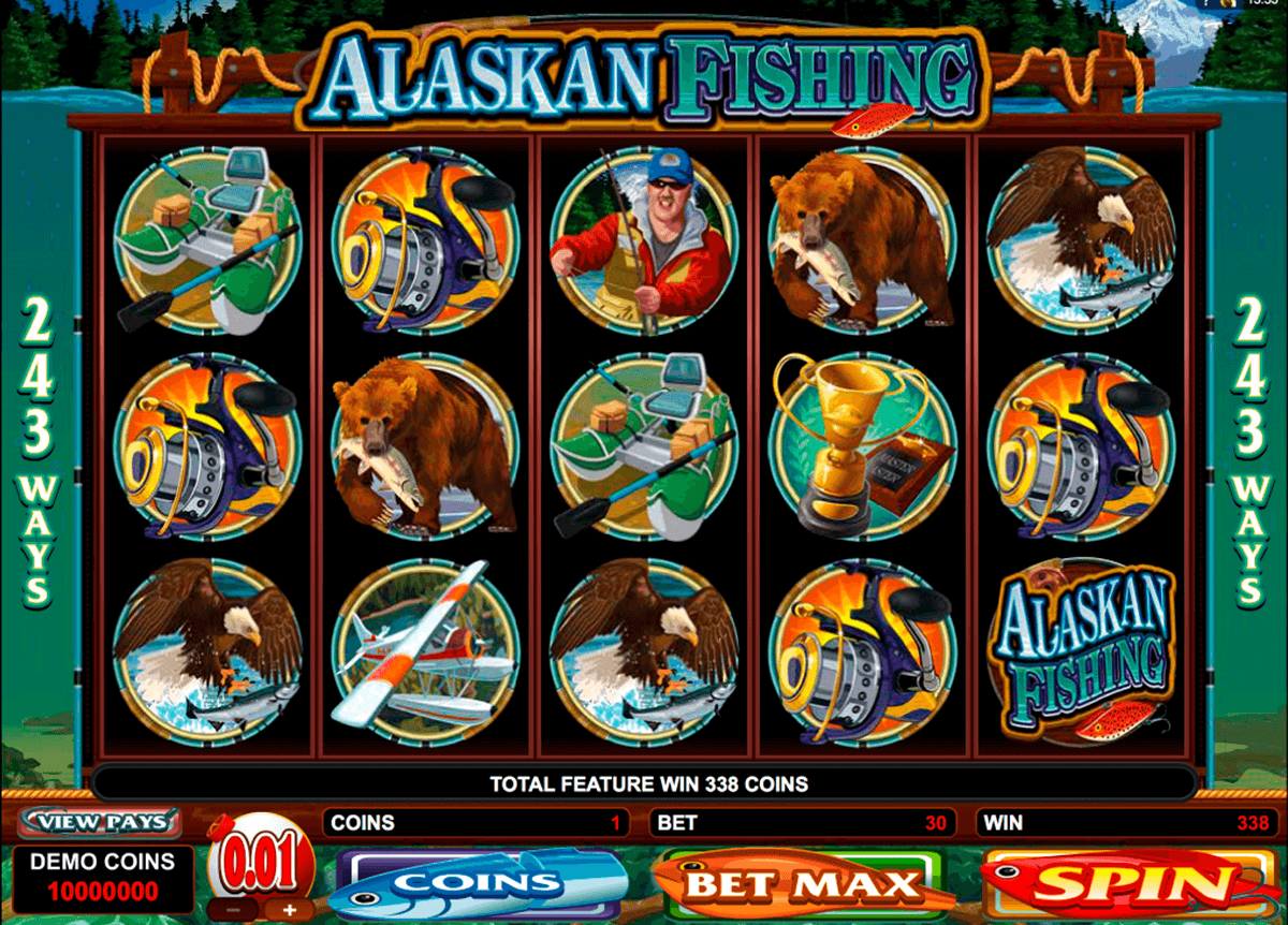 alaskan fishing microgaming automat pa nett