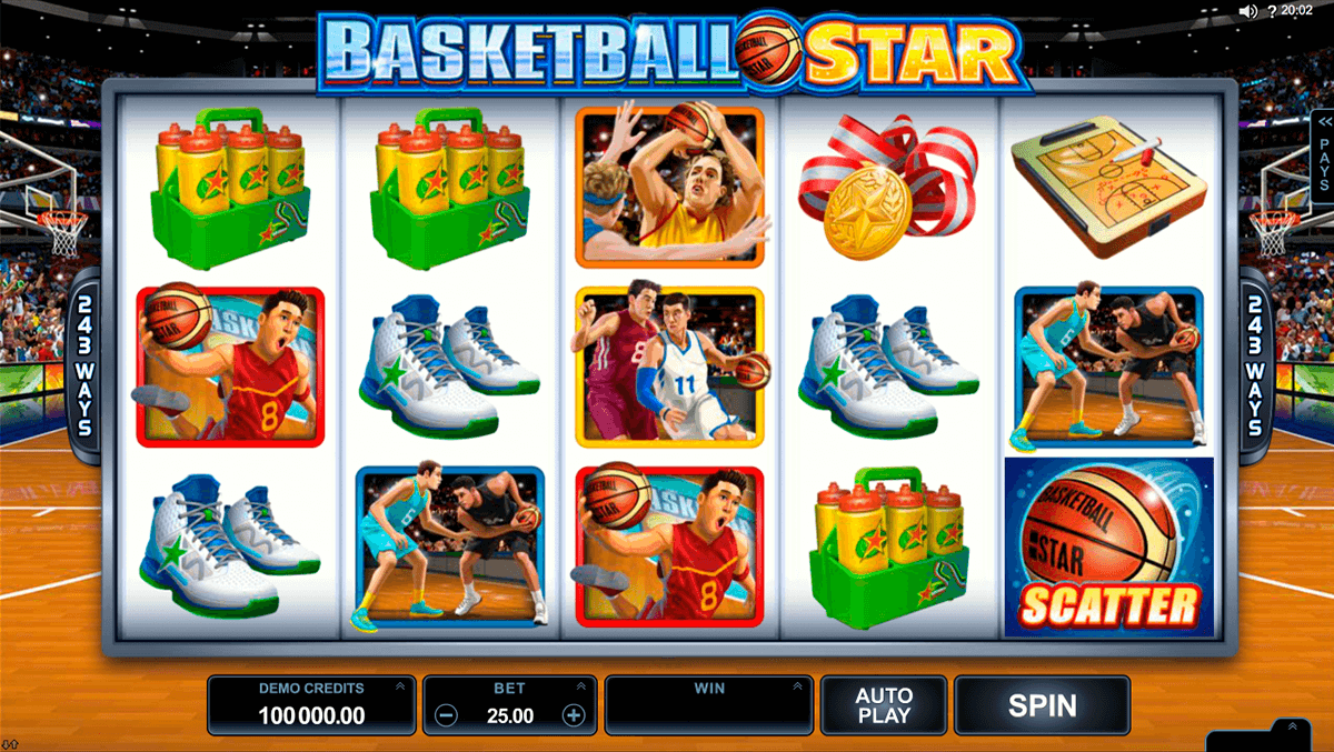 basketball star microgaming automat pa nett
