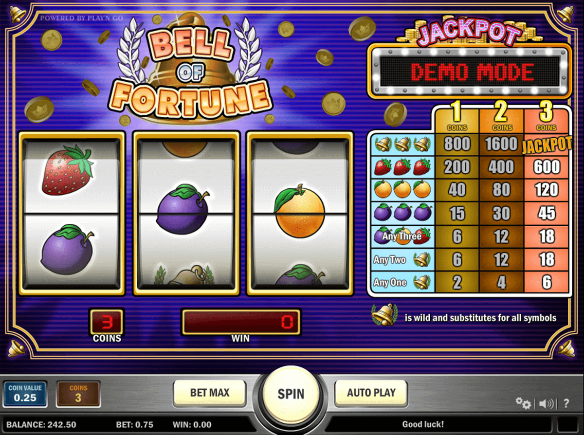 bell of fortune playn go automat pa nett