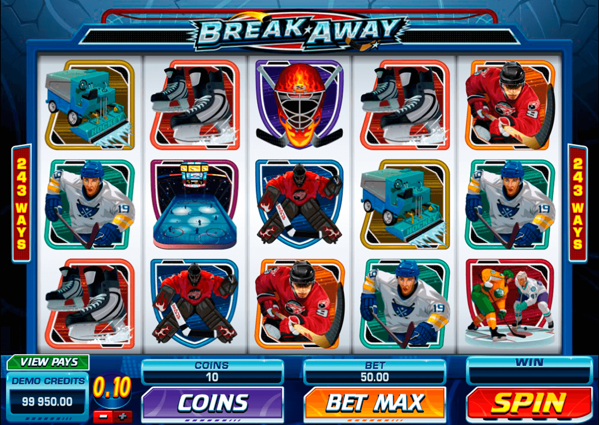 break away microgaming automat pa nett