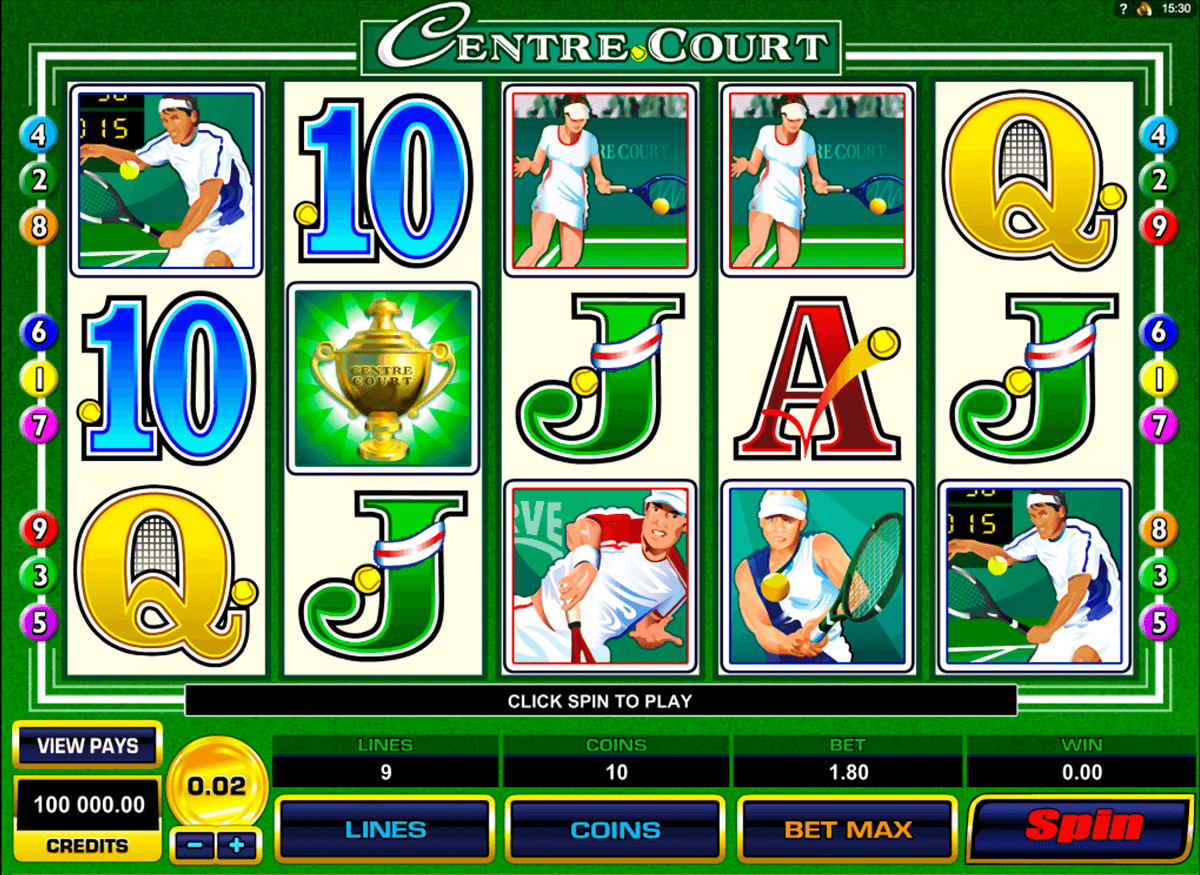 centre court microgaming automat pa nett