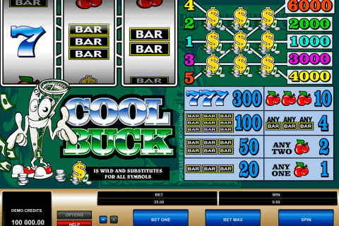 cool buck microgaming automat pa nett