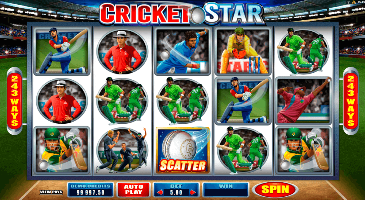 cricket star microgaming automat pa nett