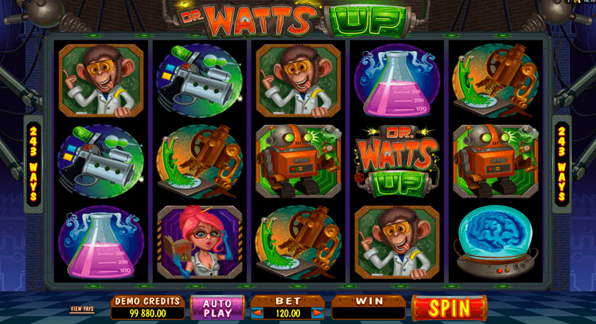 dr watts up microgaming automat pa nett