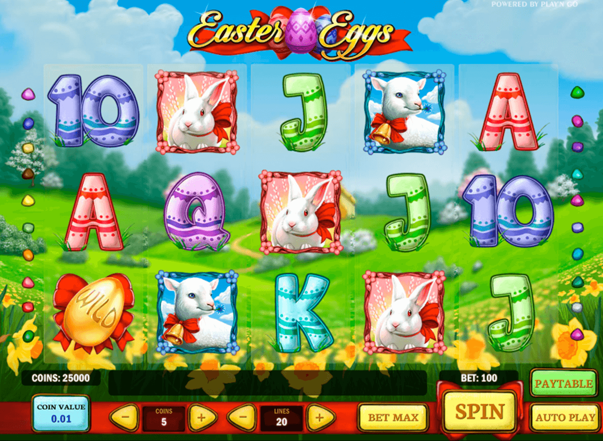 easter eggs playn go automat pa nett