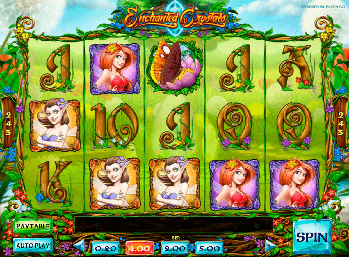 enchanted crystals playn go automat pa nett