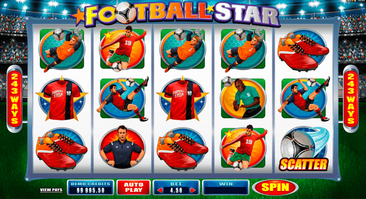 football star microgaming automat pa nett