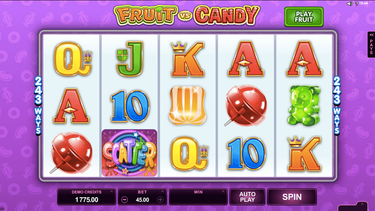 fruit vs candy microgaming automat pa nett