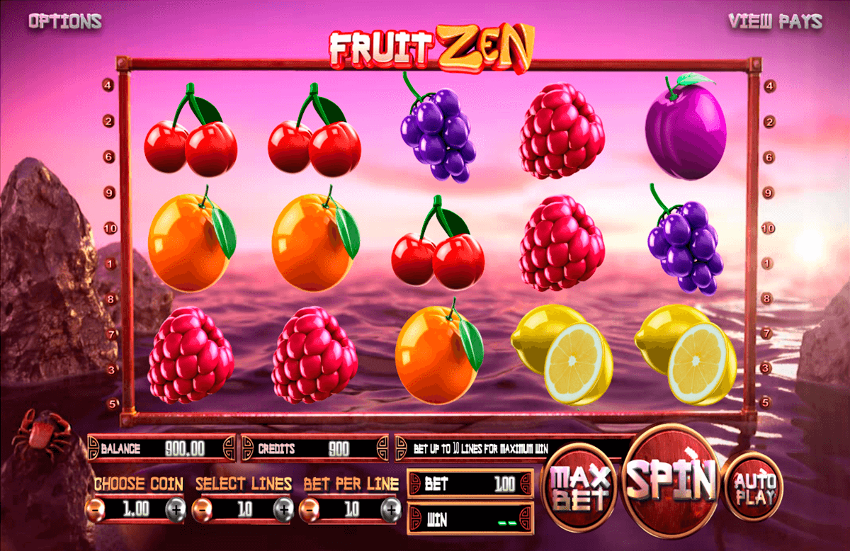 fruit zen betsoft automat pa nett