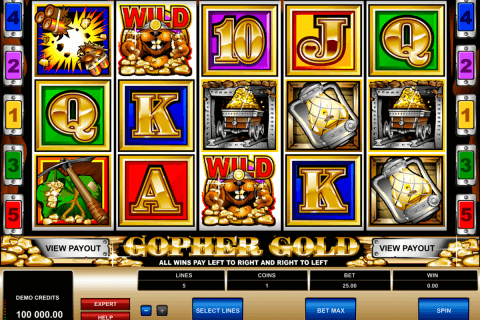 gopher gold microgaming automat pa nett