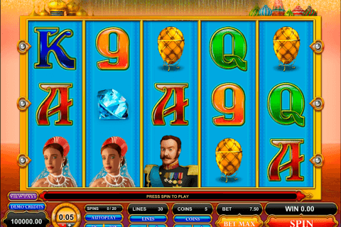 great czar microgaming automat pa nett