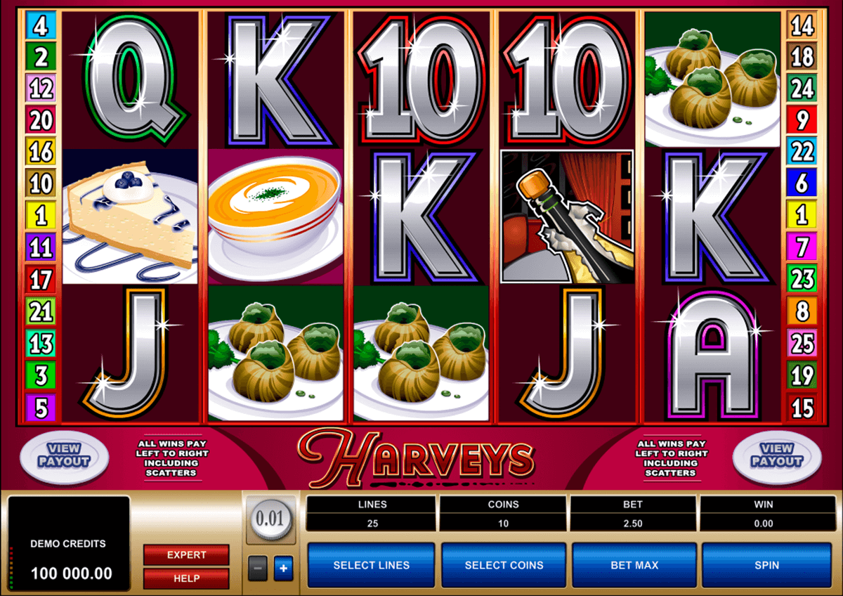 harveys microgaming automat pa nett