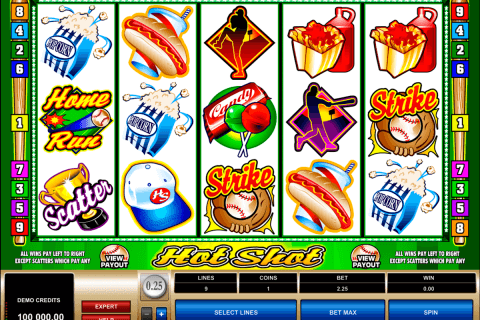 hot shot microgaming automat pa nett