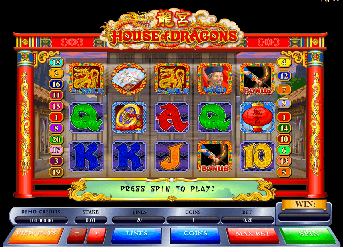 house of dragons microgaming automat pa nett