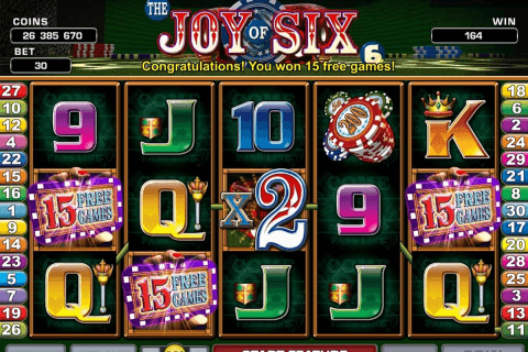 joy of six microgaming automat pa nett