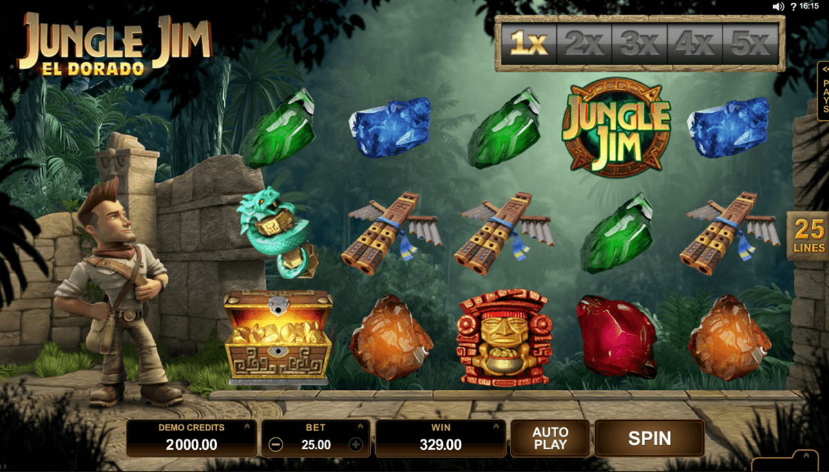 jungle jim el dorado microgaming automat pa nett