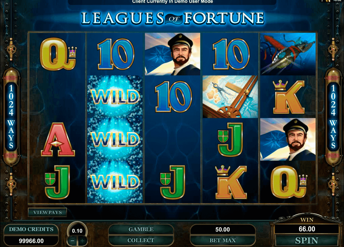 leagues of fortune microgaming automat pa nett