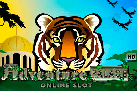 logo adventure palace microgaming spilleautomat
