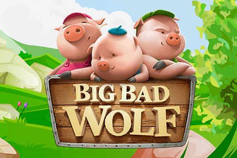 logo big bad wolf quickspin spilleautomat