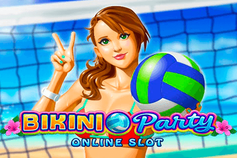 logo bikini party microgaming spilleautomat