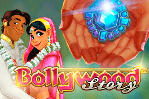 logo bollywood story netent spilleautomat