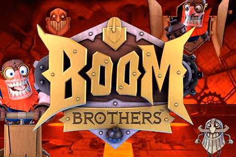 logo boom brothers netent spilleautomat