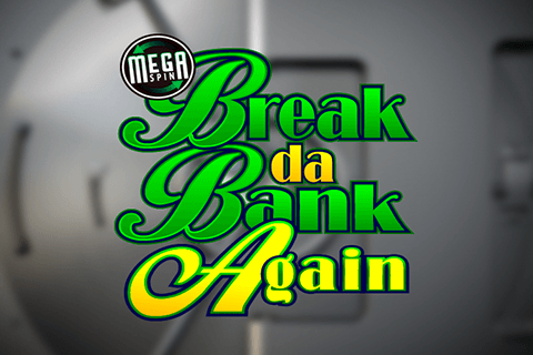logo break da bank again megaspin microgaming spilleautomat