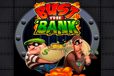 logo bust the bank microgaming spilleautomat