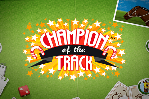 logo champion of the track netent spilleautomat