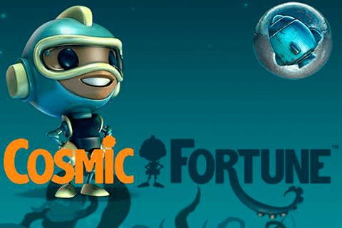 logo cosmic fortune netent spilleautomat