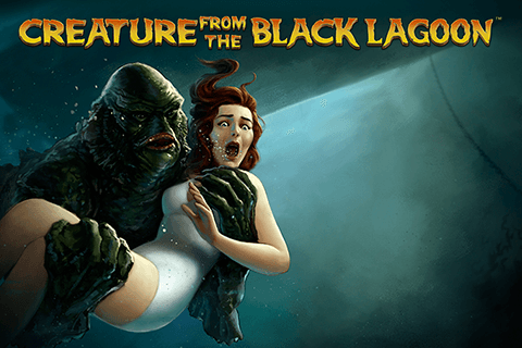 logo creature from the black lagoon netent spilleautomat