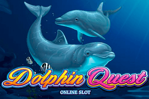 logo dolphin quest microgaming spilleautomat