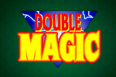 logo double magic microgaming spilleautomat