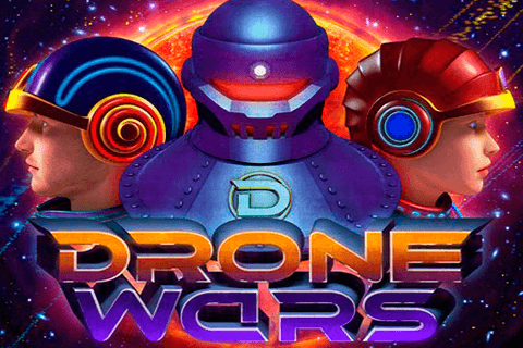 logo drone wars microgaming spilleautomat