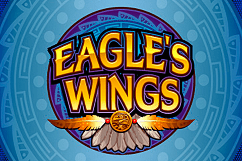 logo eagles wings microgaming spilleautomat