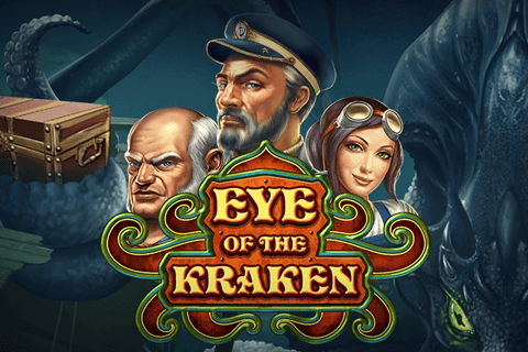 logo eye of the kraken playn go spilleautomat