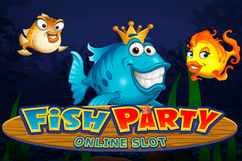 logo fish party microgaming spilleautomat