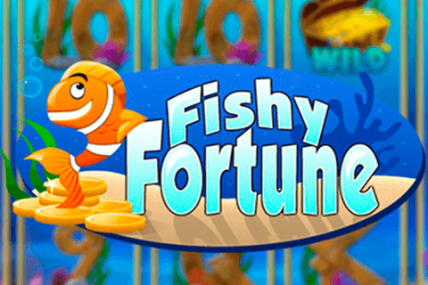 logo fishy fortune netent spilleautomat