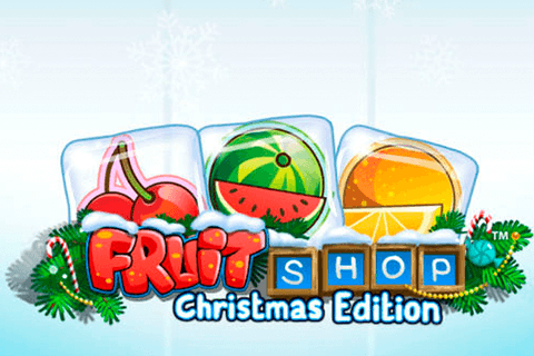 logo fruit shop christmas edition netent spilleautomat