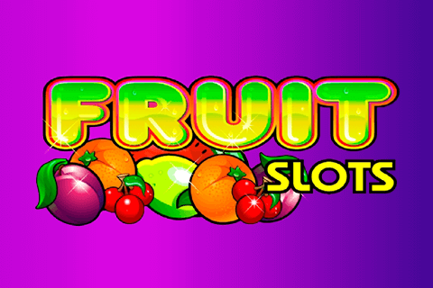 logo fruit slots microgaming spilleautomat