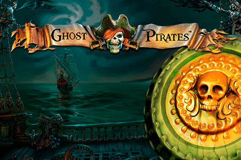 logo ghost pirates netent spilleautomat