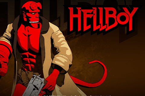 logo hellboy microgaming spilleautomat