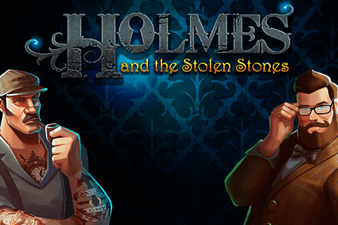 logo holmes and the stolen stones spilleautomat