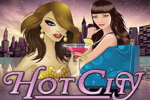 logo hot city netent spilleautomat