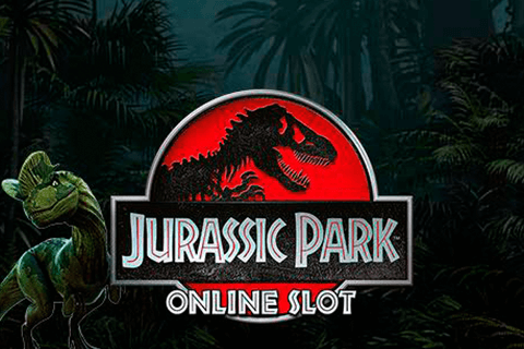 logo jurassic park microgaming spilleautomat