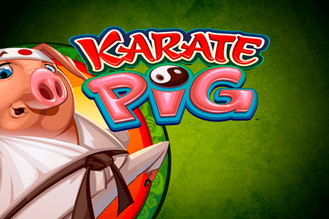 logo karate pig microgaming spilleautomat