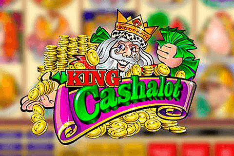 logo king cashalot microgaming spilleautomat