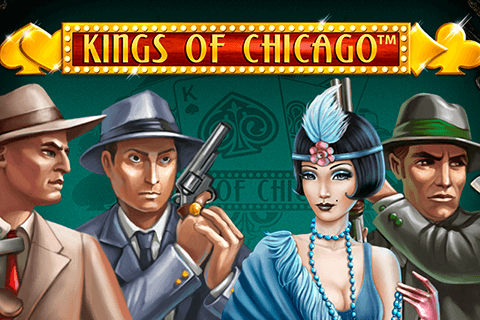 logo kings of chicago netent spilleautomat