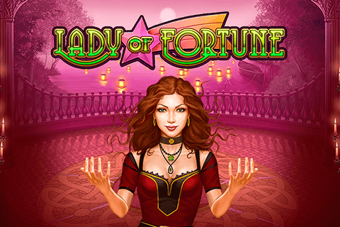 logo lady of fortune playn go spilleautomat